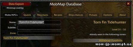 wow mobmap